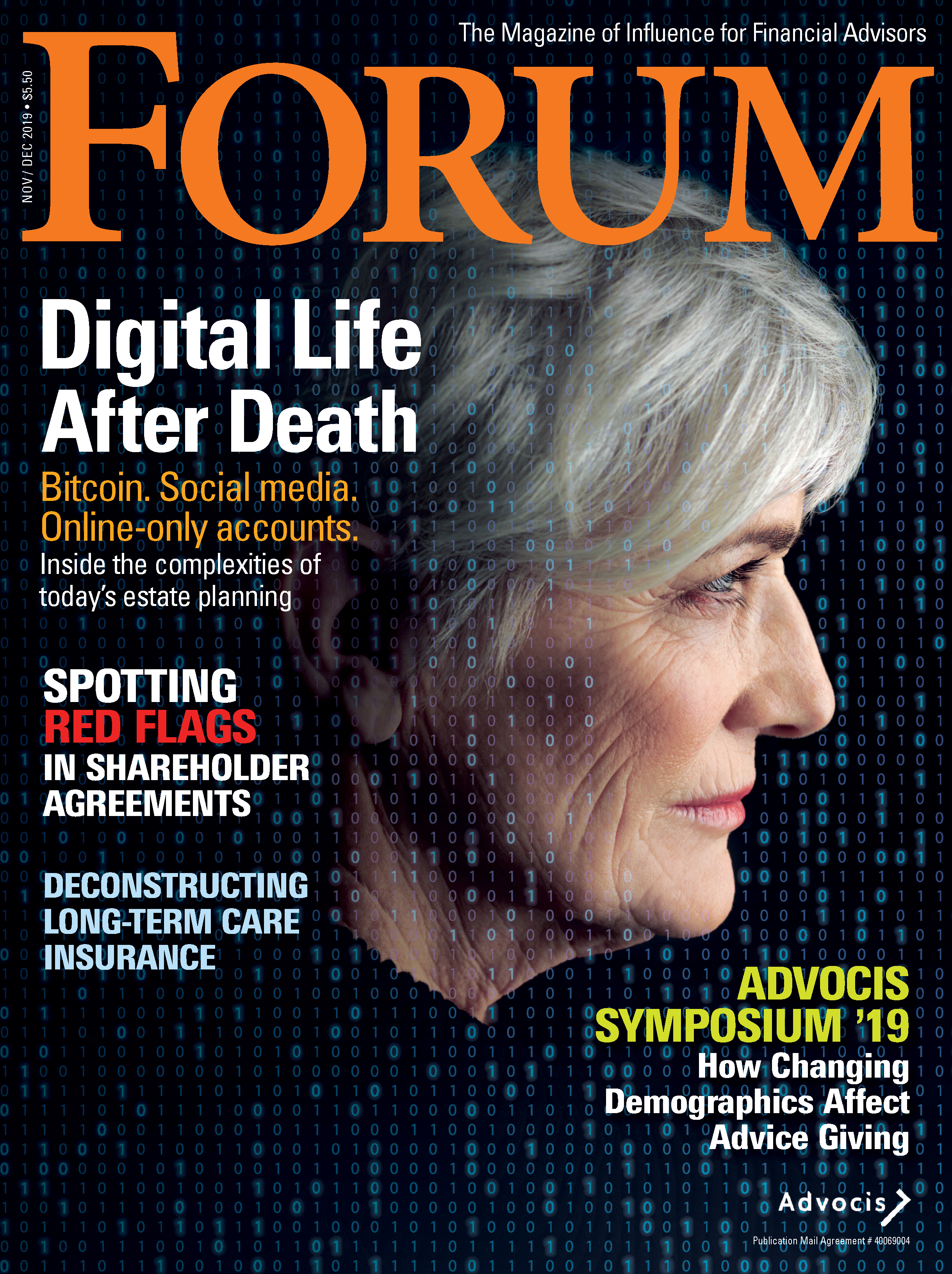 December FORUM 2019 Cover