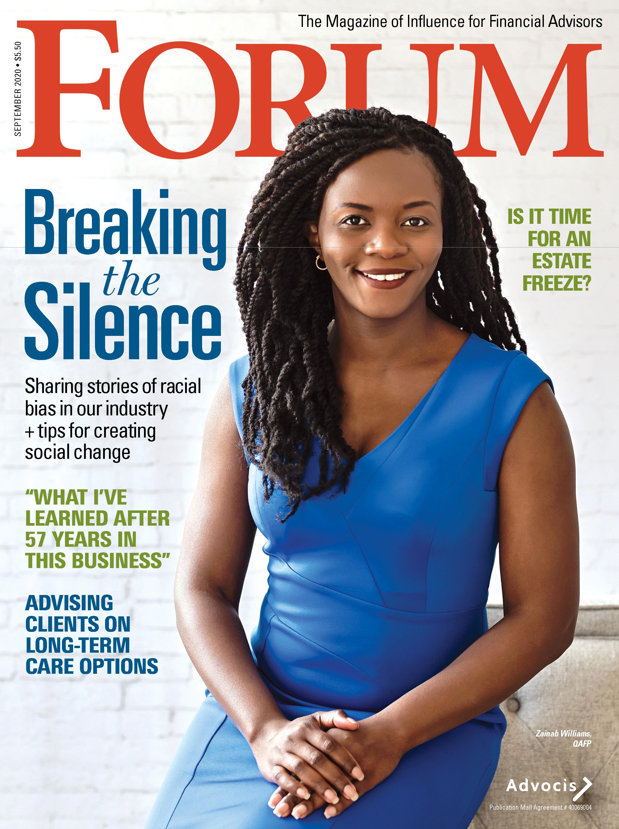 FORUM Magazine - September 2020 1