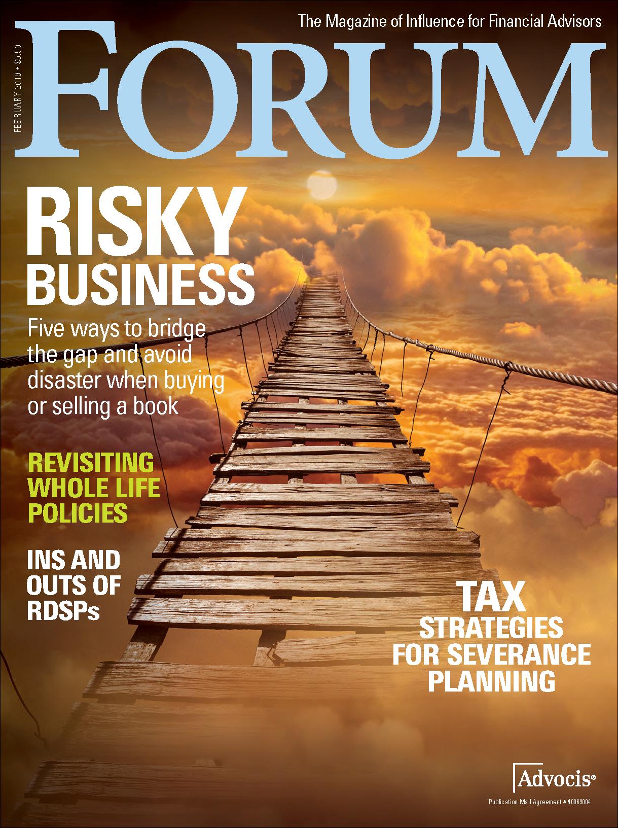 February FORUM 2019 Cover