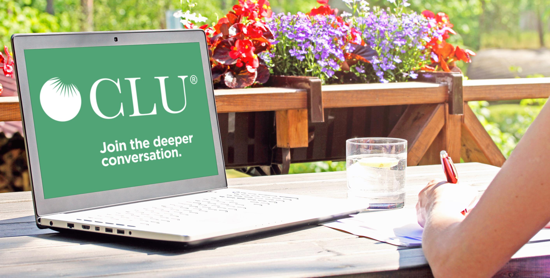 CLU. Join the deeper conversation.